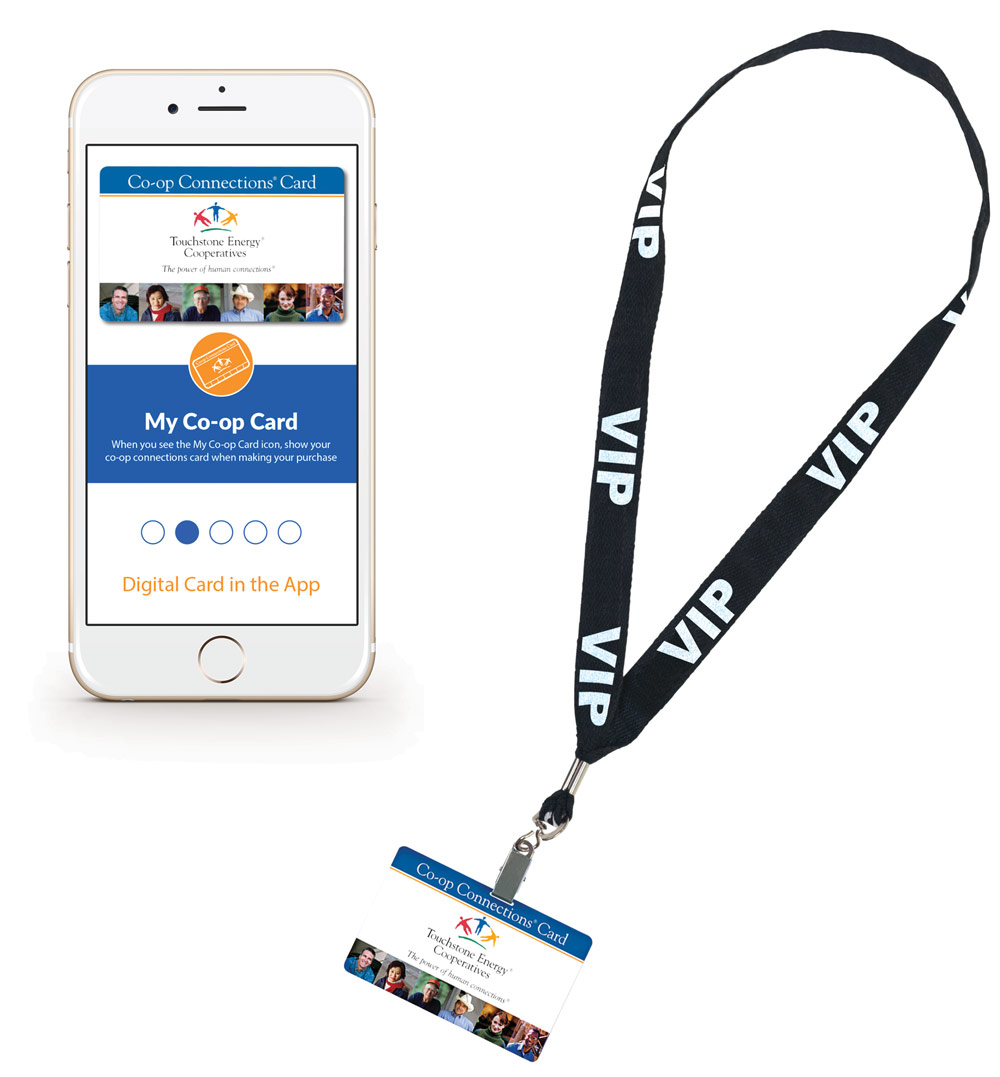 co-op connections lanyard